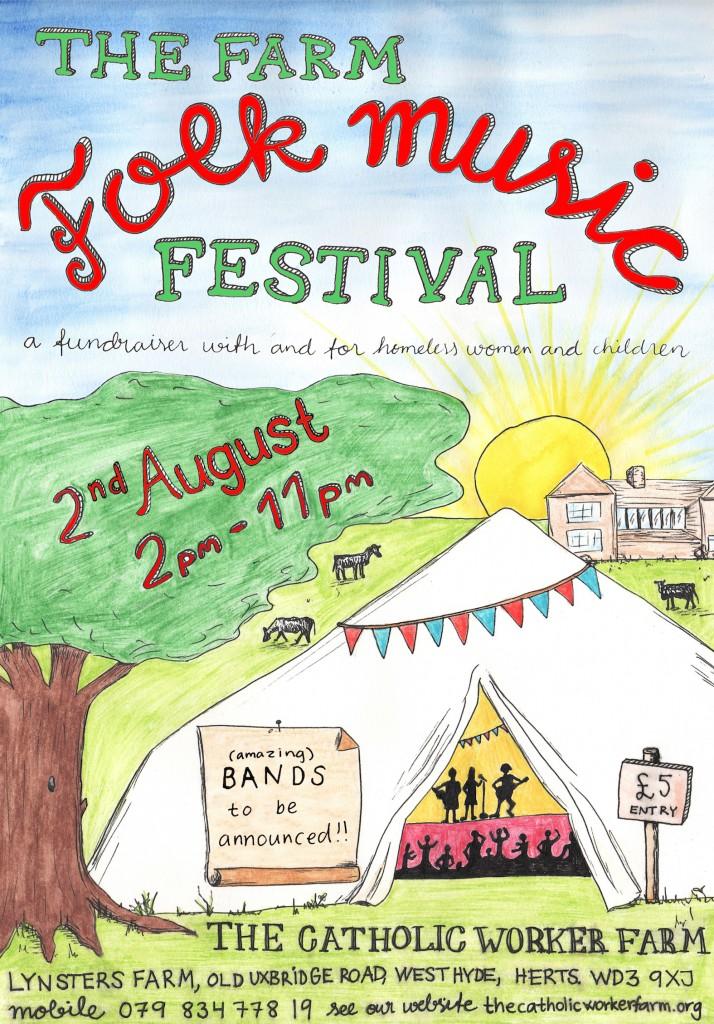 farm festival poster